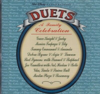 DUETS, A Family Celebration CD. VARIOUS ARTISTS . GRACE KNIGHT,JOE CAMILLERI