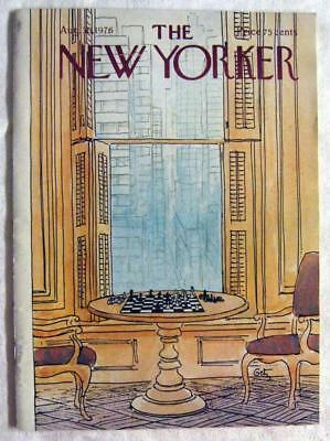 THE NEW YORKER magazine ~ August 30, 1976 Issue