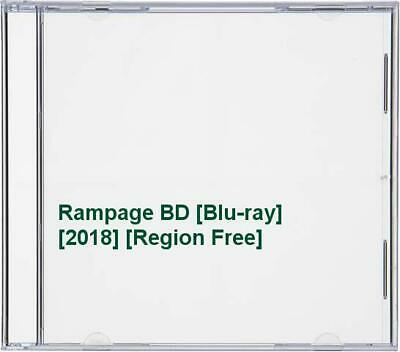 Rampage BD [Blu-ray] [2018] [Region Free] -  CD 3TVG The Fast Free Shipping