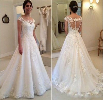 Dentelle Robe De Mariage Robe Mariee Babycat Collection Ivoire Bc605c 44