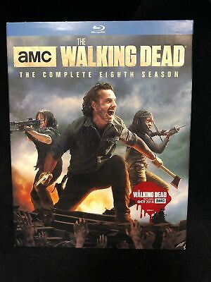 The Walking Dead: The Complete Eighth Season 8 (Blu-Ray 2018, 5-Disc Set) Sealed