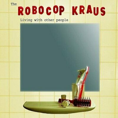 The Robo Cop Kraus-Living With Other People CD   Good