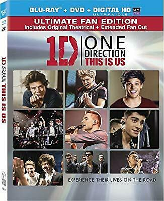One Direction: This Is Us [Blu-ray] [US Import], , New Blu-ray