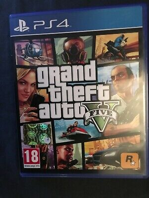 GRAND THEFT AUTO GTA V 5 play  PlayStation ps4 videogioco