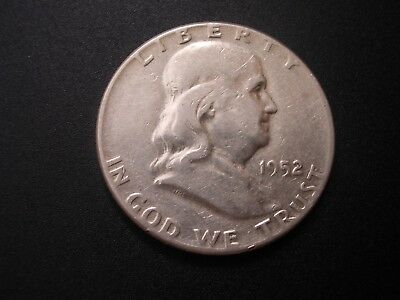 Franklin Half Dollar 1952, Uncirculated