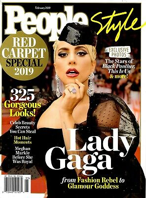 People Style Magazine February 2019 Gorgeous Looks A Star Is Born LADY GAGA