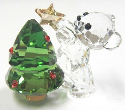 Kris Bear Christmas Annual Edition 2018 Holiday Tree Swarovski Crystal 5399267