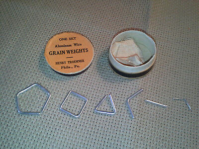 Troemner Apothecary Pharmacy Scale Weight Set, Unused in Orig. Box