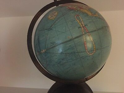Vintage Repgloble American globe from 1930s