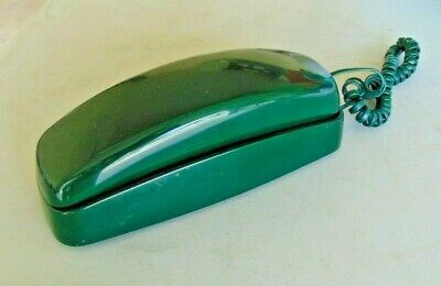 Vintage Push Button AT&T Trimline model # 210  Phone Forest Hunter Green