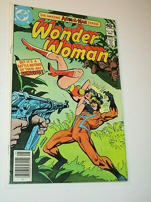 WONDER WOMAN #267 INTRO 1st appearance ANIMAL MAN DC COMICS 1980