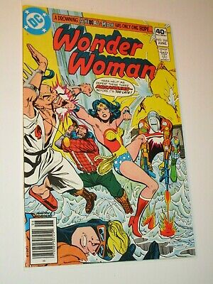 WONDER WOMAN #268 INTRO 2nd appearance ANIMAL MAN DC COMICS 1980