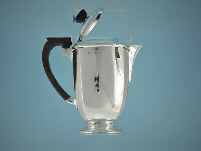Art Deco Kanne - 925er Silber - Birmingham 1937 - William Neale - 1,0 l - #2311