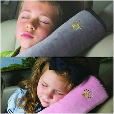 Car Pillow Neck Seat Headrest Toddler Kid Belt Travel Support Pad Cushion Best