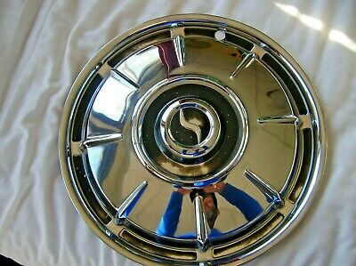 2 WHEEL COVERs  HUBCAPs 1964 1965 1966 Studebaker HAWK  LARK Smooth SHINE XLNT