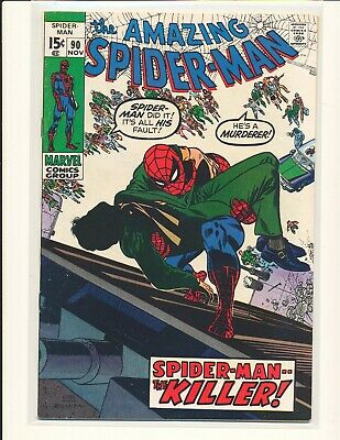 Amazing Spider-Man # 90 - Death of Captain Stacy Fine/VF Cond.
