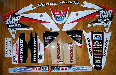 FX TEAM TWO TWO RACING HONDA CRF250  2004 to 2009  CHAD REED GRAPHICS KIT