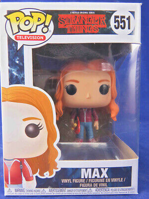 Funko Pop! Vinyl Figure Television Stranger Things #551 Max with Skateboard