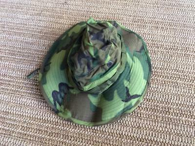 3aa346fe287 Army Military Surplus Vietnam War Tropical Hot Weather Jungle Boonie Hat  ERDL