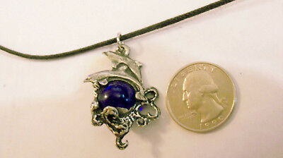 bling pewter MYTH beach PARTY SEA dolphin FASHION pendant charm necklace JEWELRY