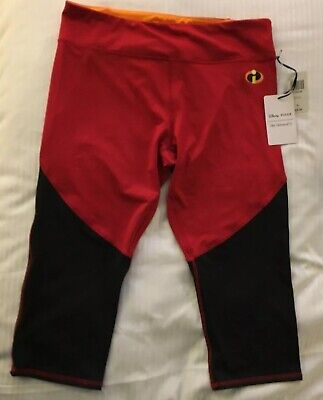 NWT WOMENS XL Extra LARGE DISNEY PIXAR INCREDIBLES 2 ATHLETIC PANTS HER UNIVERSE