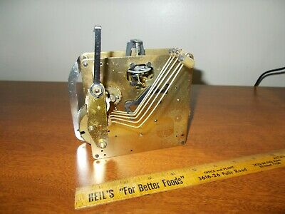 '74 Seth Thomas A403-001/ Hermle 350-060 Westminster Chime 8 Day Movement
