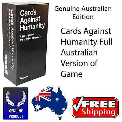 Cards Against Humanity Australian Edition Main Set Free Shipping SALE On NOW