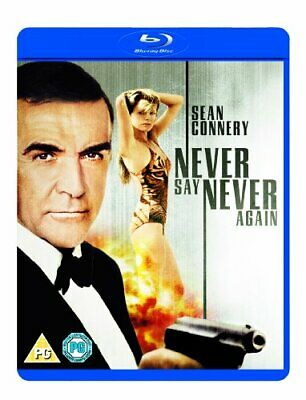 Never Say Never Again [Blu-ray] [1983] [Region Free] -  CD ZSVG The Fast Free