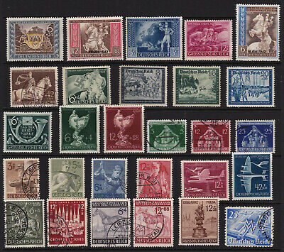German Stamps Third Reich Issues GCV