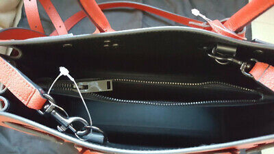 df1a543934b2 ... Jour red black grained leather bag · Like us on Facebook · 100% NWT   Yves   Saint  Laurent   Baby Sac De