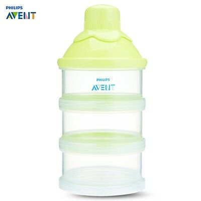 Philips Avent Baby Milk Powder 3 Screw-on Containers Box
