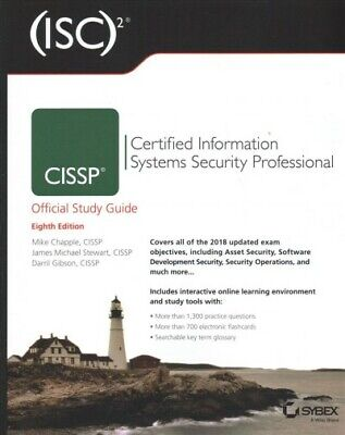 ISC2 CISSP Certified Information Systems Security Professional Official Study...