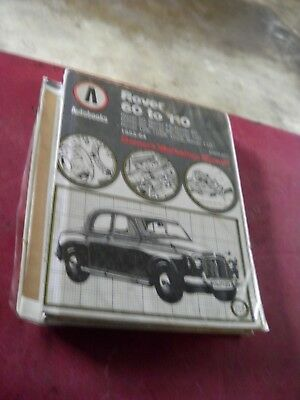 Rover P4 Autobooks Workshop Manual  With Exploded Views