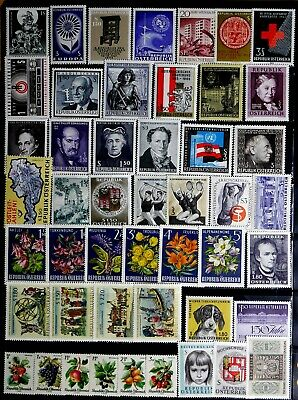 Austria: 1964-66 Mint Never Hinged Stamp Collection All Sound