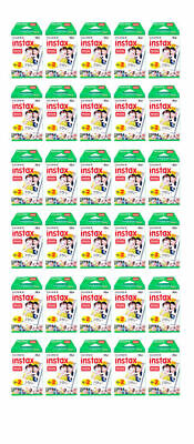 600 Prints Fujifilm instax Mini Instant Film for Fuji 25 50s 7s 8 9 70 90, CASE