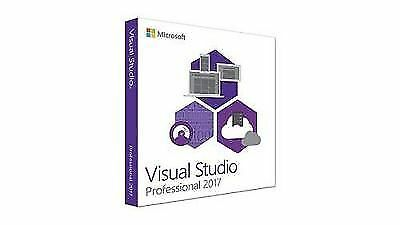 Visual Studio Professional 2017 - Unlimited PC's - Lifetime License (OFFER)!!