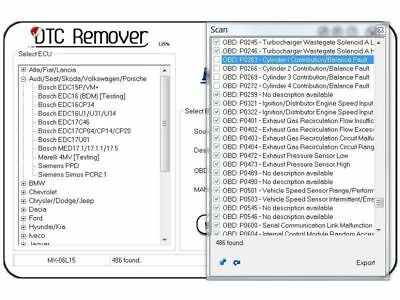 DTC MXT Remover 1.8.5.0 ECU EGR DPF Remover Software NEW LATEST!!