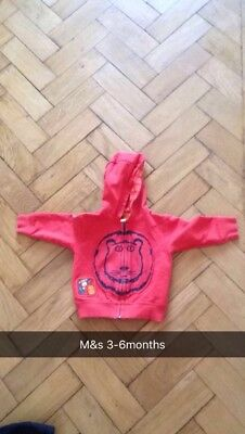 Marks And Spencers Baby Boys Jacket Size 3-6 Months in excellent condition