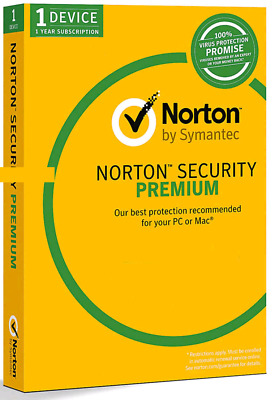 Norton Security Premium 1 PC / 2018 - 1 YEAR ✅ | Download | ✅ 100% GENUINE