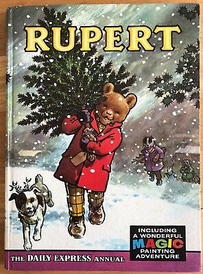 Rupert Annual 1965 Not Inscribed Not Price Clipped Mp Half Done Fine Boards