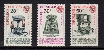 NIGER 1965  Centenary of ITU.   MNH