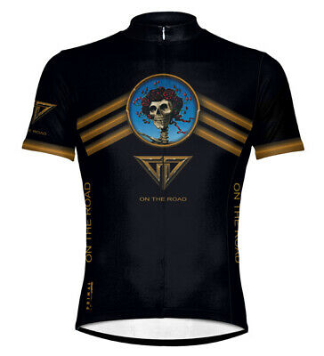 Primal Wear Grateful Dead On The Road Cycling jersey Men s Short Sleeve  with Sox 2d2608eaa