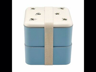 Cath Kidston Bumble Bees Set Of Lunch Boxes - Brand New