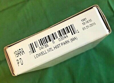 2019 Lowell National Hist. Park (MA) ATB 25C Original Unopened Sealed Mint Box