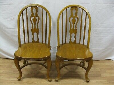 Cochrane Heritage House Oak Dining Side Chair Set of 2