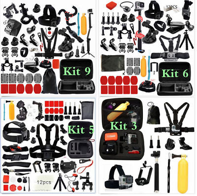 Accessory Action Camera Kit for GoPro Hero Xiaomi Yi 4K SJCAM SJ5000 SJ7 Eken H9