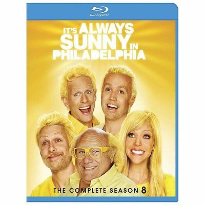 Its Always Sunny in Philadelphia: The Complete Season 8 (Blu-ray Disc, 2013, 2-D