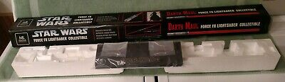 Star Wars Master Replicas Darth Maul Force FX lightsaber Box Display Stand ONLY