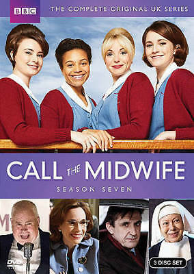 Call The Midwife: Complete Seventh Season 7 Seven (DVD, 2018, 3-Disc Set) NEW