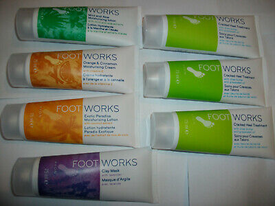7 x AVON FOOTWORK PRODUCTS JOB LOT ALL NEW AS SEEN IN PHOTOS